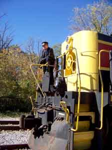 Cuyahoga Valley Scenic Railroad and Conductor